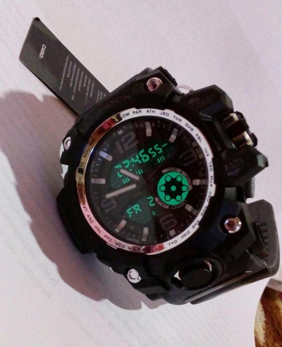 3166e991e38 relógio casio g-shock dualogic esportivo. Carregando zoom.