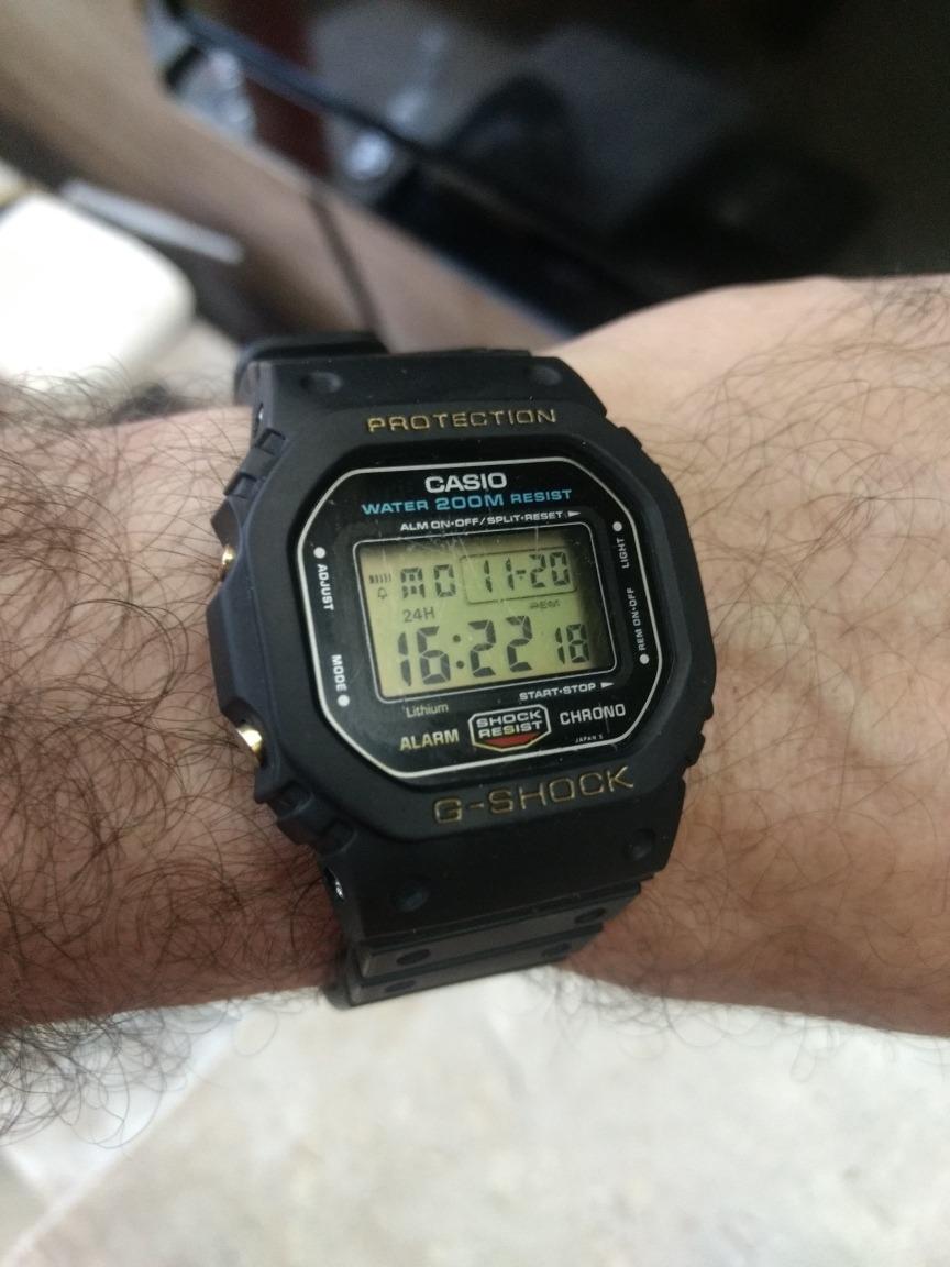 2ebbc75f2bd Relógio Casio G-shock Dw 5600