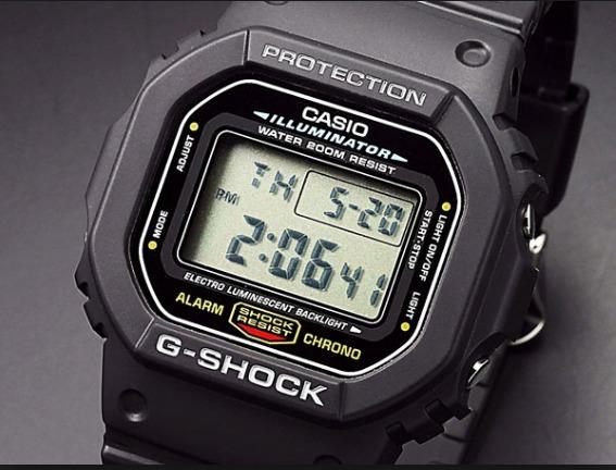 44ec1771dba Relogio Casio G-shock Dw-5600 Dw5600 Prata Original Promoção - R ...