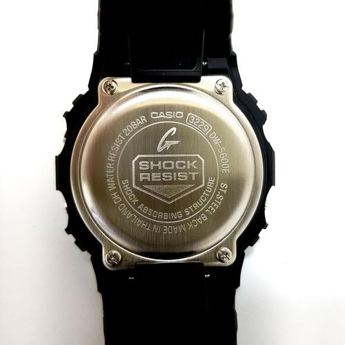 relogio casio g-shock dw-5600e-1vdf (original)(nota fiscal)