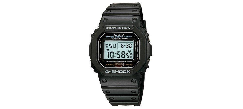 4101287efad8 relógio casio g-shock dw-5600e-1vdf resina preto. Carregando zoom.
