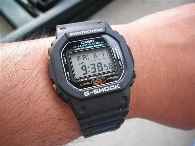 429790fd35e Relógio Casio G-shock Dw-5600e 1vdf Serie Prata Original - R  349