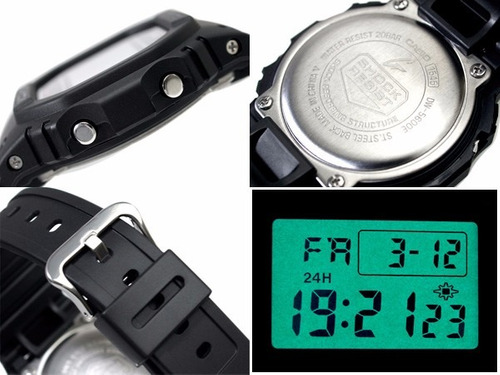 relógio casio g-shock dw-5600e 1vq dw5600 wr-200mt 5600