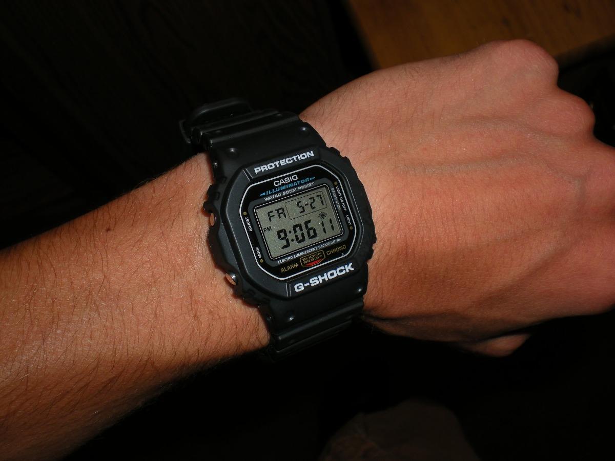 72ad90df903 Relógio Casio G-shock Dw-5600e 1vq Dw5600 Wr-200mt 5600 - R  349