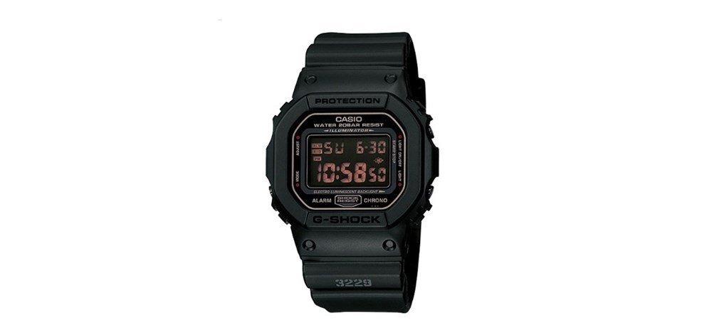 77b2435643b relógio casio g-shock dw-5600ms-1dr resina preto. Carregando zoom.