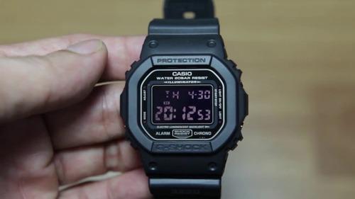 relógio casio g-shock dw-5600ms-1vdf nota fiscal frete gráti