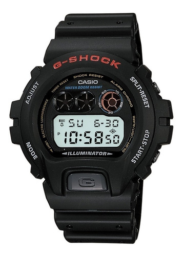 relogio casio g-shock dw-6900-1vdr (original)(nota fiscal)