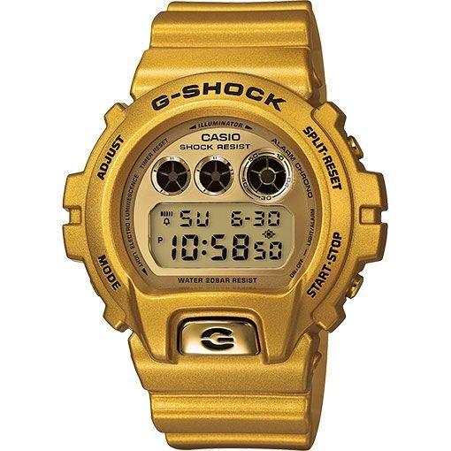 a873b82b2d6 Relógio Casio G-shock Dw-6900 Dw-6900gd-9 Dourado - R  419