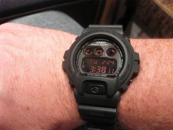 e3f9f981e0d Relógio Casio G Shock Dw 6900 Ms 1dr Preto Padrão Digital - R  489 ...