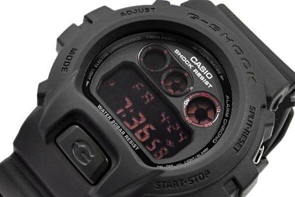 3a3435aabc7 Relógio Casio G Shock Dw 6900 Ms 1dr Preto Padrão Digital - R  489 ...