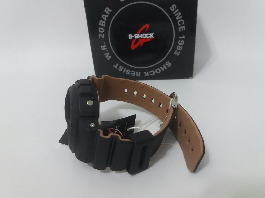 ade952df6ae relógio casio g shock dw-6900lu-1dr preto bege original. Carregando zoom.