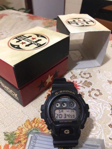 relógio casio g shock dw-6930c edição limitada 30th