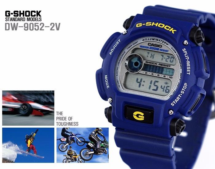 7893eae6ee7 Relogio Casio G-shock Dw-9052-2 Alarme Cronometro Wr 200 Mts - R ...