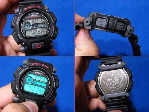 relogio casio g-shock dw-9052 alarme cronometro wr 200 mts p