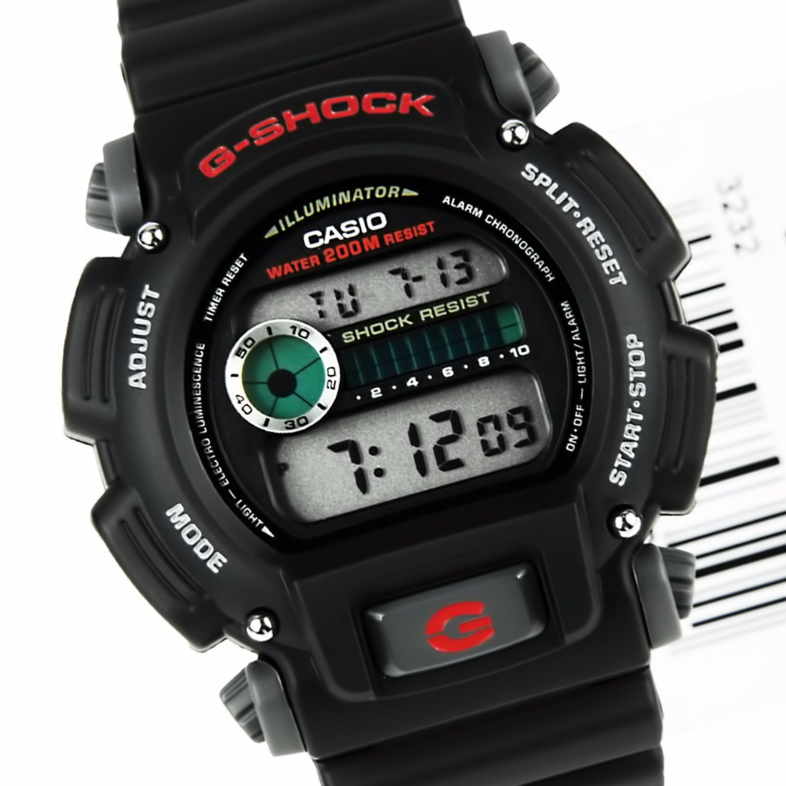 ec148d0d8a6 relogio casio g-shock dw-9052 alarme cronometro wr 200 mts p. Carregando  zoom.
