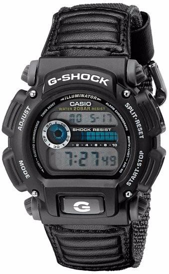 49165a8bed4 Relógio Casio G-shock Dw-9052v-1dr Pulseira Nylon Original - R ...