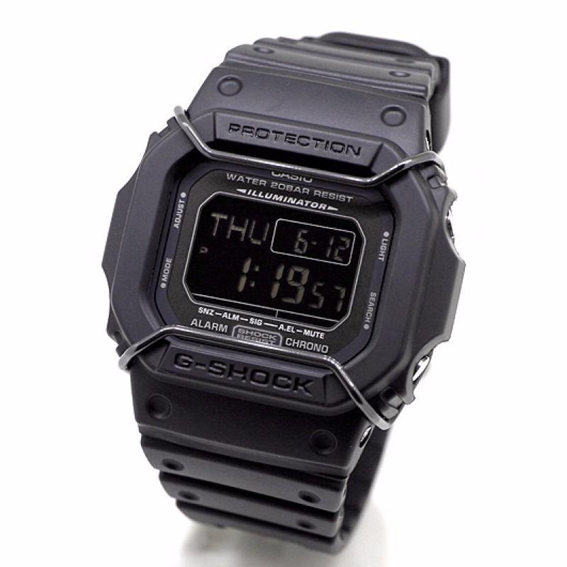 e814b86f762 Relógio Casio G-shock Dw-d5600p Proteção 3 Alarmes Wr-200m P - R ...