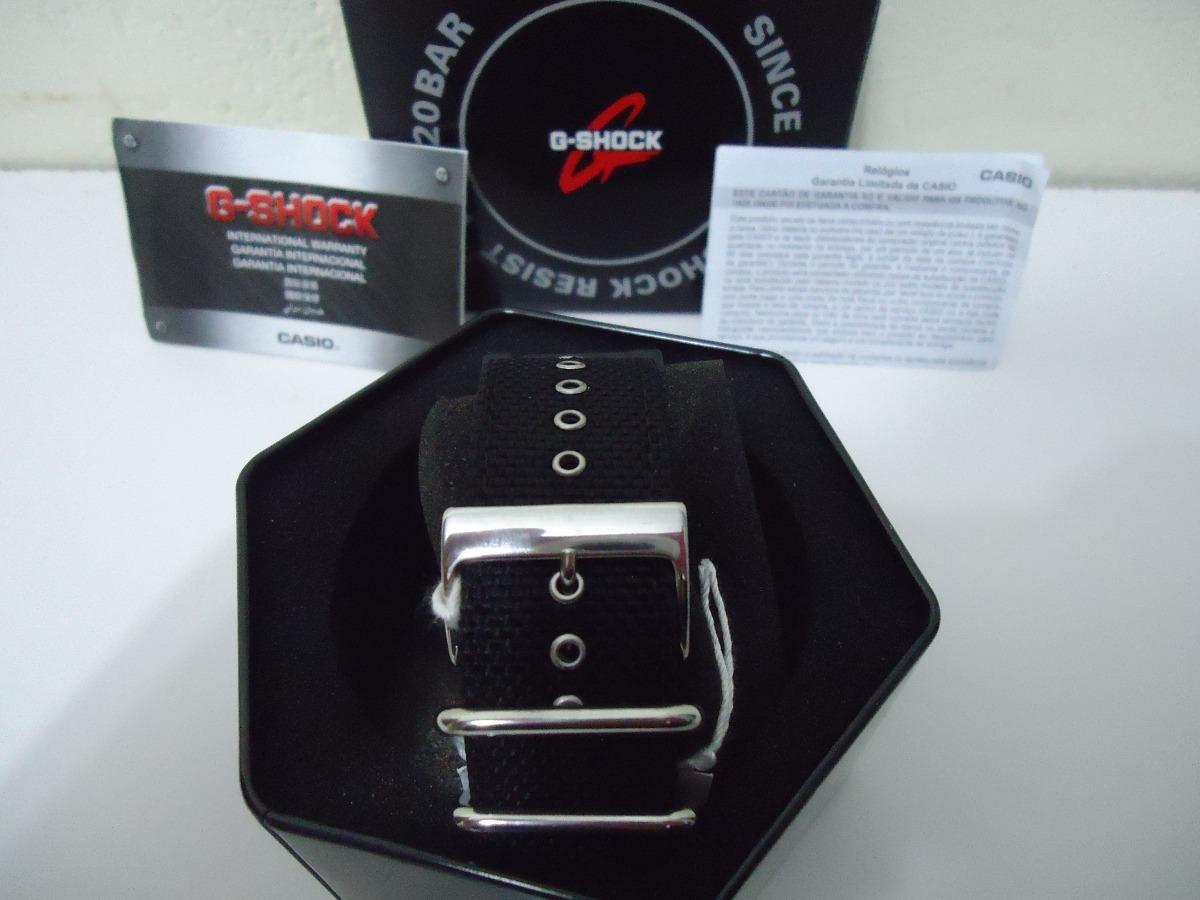 1ae4eb406b6 Relógio Casio G Shock Dw5600bbn1dr Nylon Cordura Original - R  499 ...