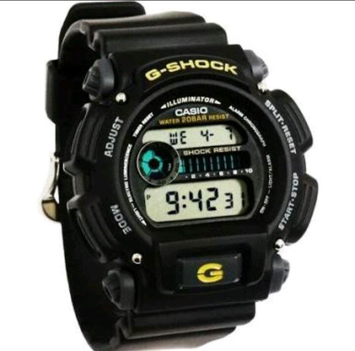 afdd0830107 Relogio Casio G-shock Dw9052-1b Digital - R  469