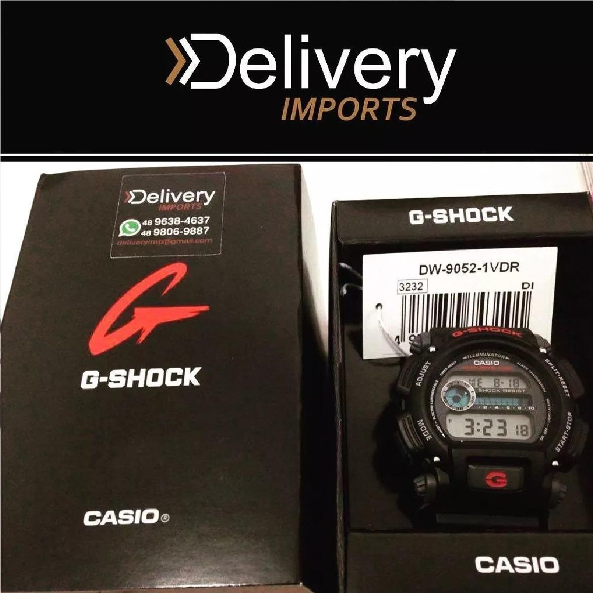 72a039ecf75 relogio casio g-shock dw9052 wr200 mts crono alarm origina. Carregando zoom.