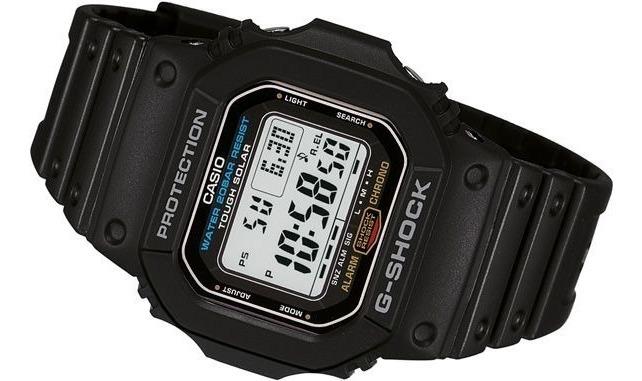 Relógio Casio G-shock G-5600 Solar Original 200mts - R$ 509,00 em ...