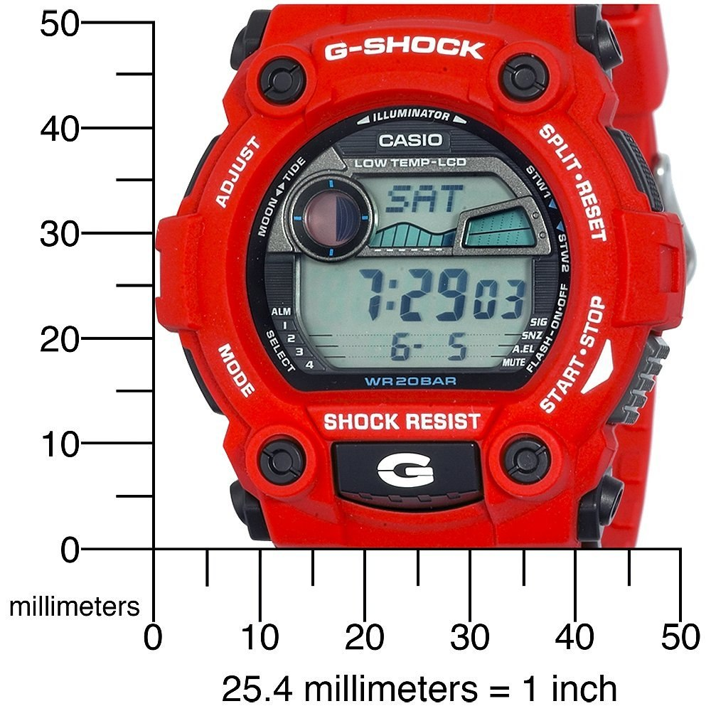 2784885700b Relogio Casio G Shock 7900 4dr Fases Lua Termo 200 Metros R 417 Watch Mat  Moto
