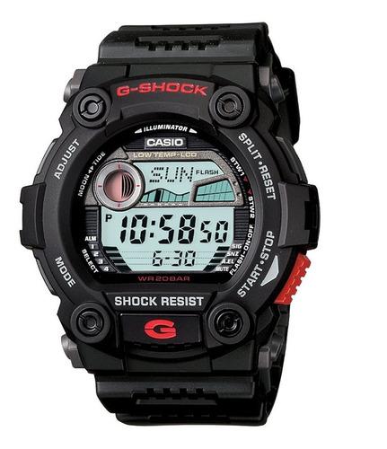 relógio casio g-shock g-7900 marés fases da lua esportivo.