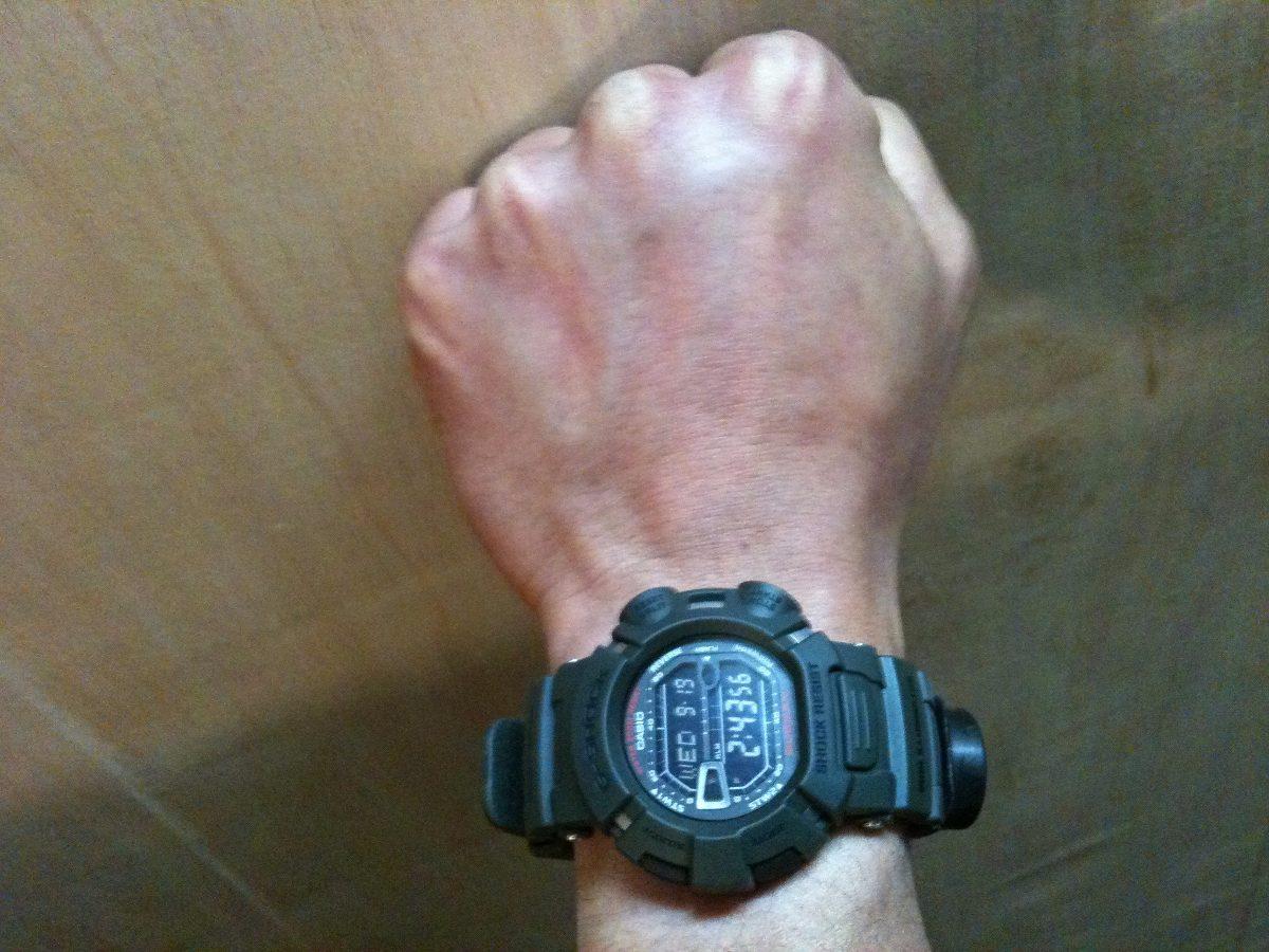 d8c16eac43b Relogio Casio G-shock G-9000-3vdr Resist. Lama Mudman Pt - R  440