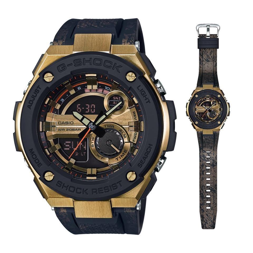 493ed3b54563 relógio casio g-shock g-steel gst-200cp-9a. Carregando zoom.