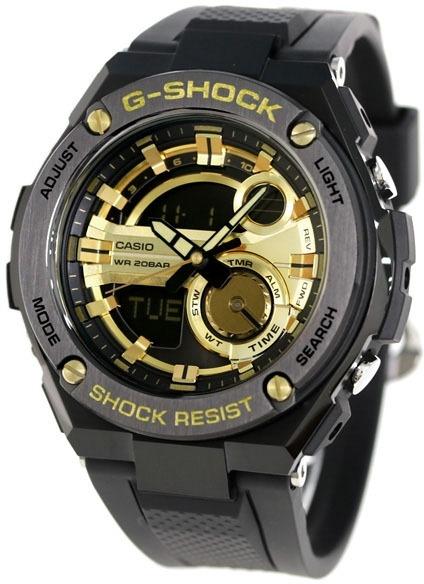 4f990ee12a54 Relógio Casio G-shock G-steel Gst-210b-1a9dr - R  1.999