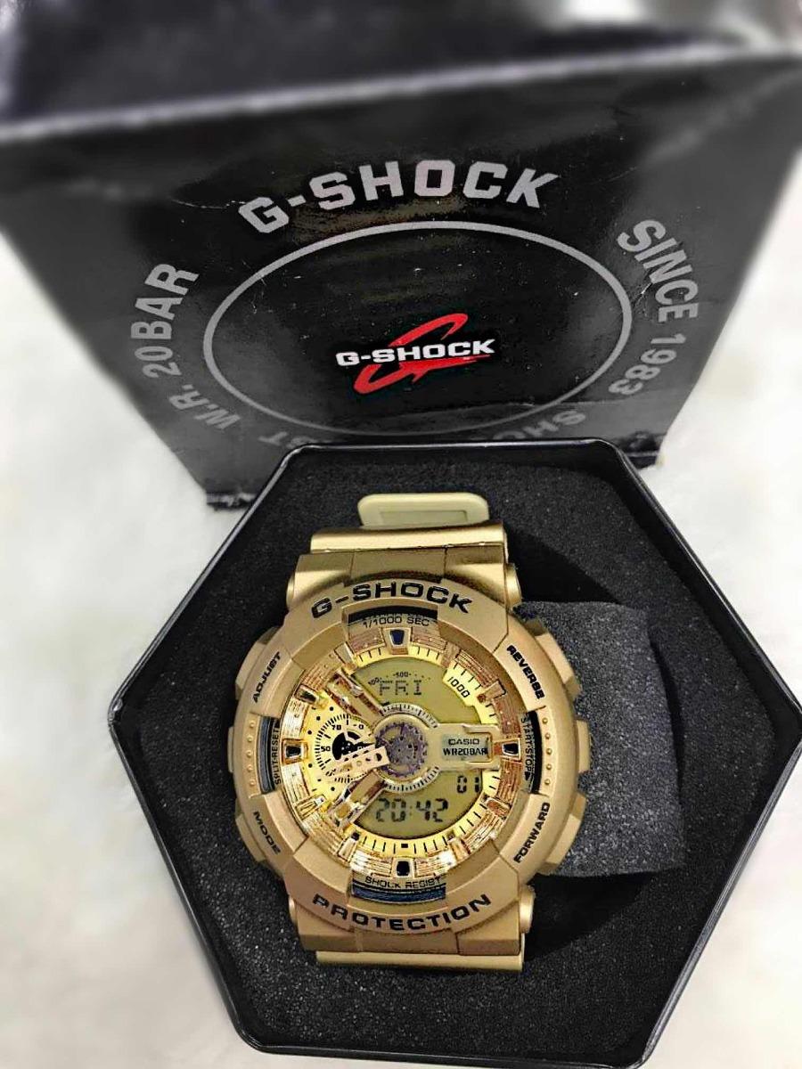 19f8cf71cbf relógio casio g shock g100 dourado original. Carregando zoom.