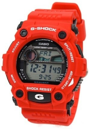 relógio casio g-shock g7900a4dr novo original pronta entrega