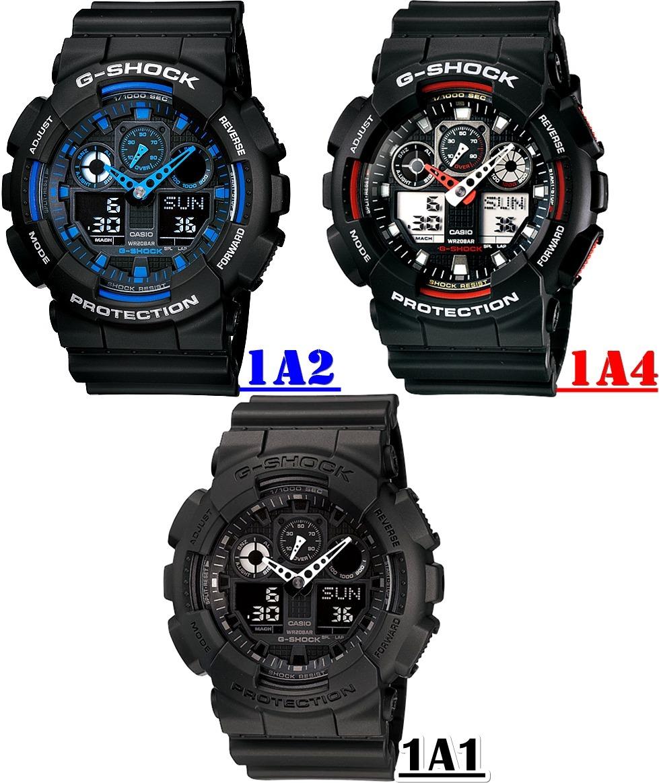 b669956058e Relógio Casio G-shock Ga-100 1a1 1a2 1a4 Original Com Caixa - R  464 ...