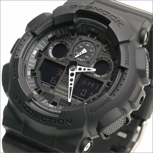 21edc322baa Relógio Casio G-shock Ga 100 Wr200 H.mundial 5 Alarmes Pt - R  464 ...