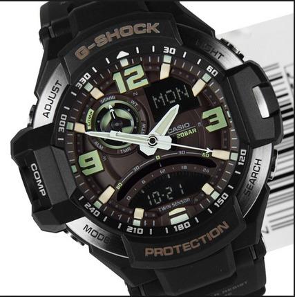 17c9fd9228f Relogio Casio G-shock Ga-1000-1b Gw-a1000 Ga1000 Aviator Ga - R  978 ...