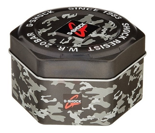 relógio casio g-shock ga-100cf-1a9dr camuflado/nota/garantia