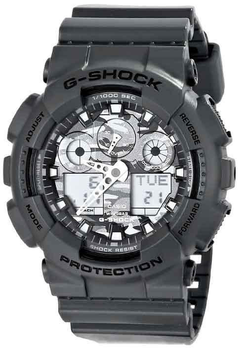 8a50334d4e9 Relógio Casio G-shock Ga-100cf-8adr  camuflado - R  699