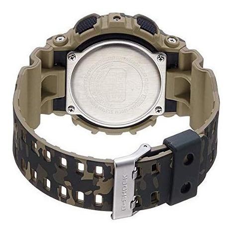 relógio casio g-shock ga-100cm-5adr original camuflado