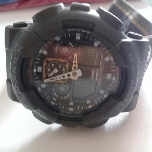 relógio casio g-shock ga 100mc-3a