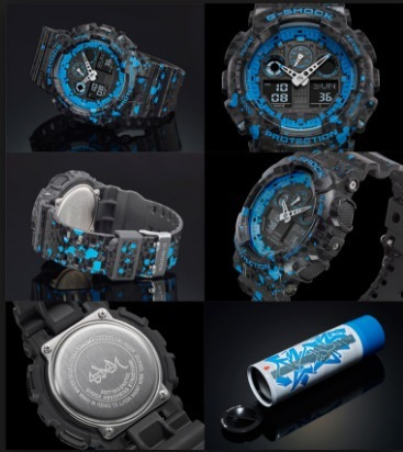 2e070e2c5e6 Relogio Casio G-shock Ga-100st-2 Ga-100 Ga-200 Ga-700 Ga-110 - R ...
