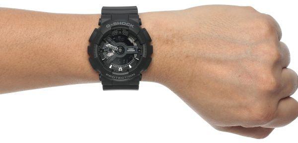 cb21ec26a04 relógio casio g-shock ga-110 1b wr200 h.mundial 5 alarmes