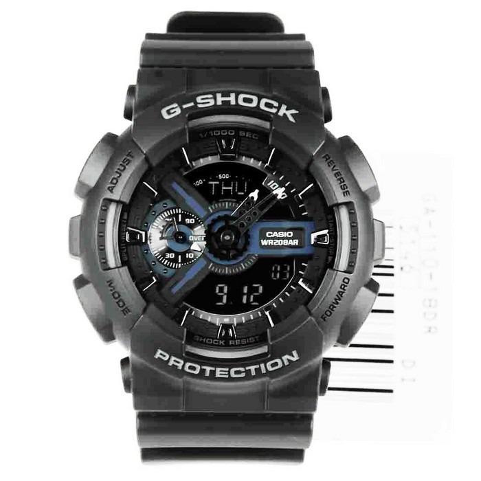 088ac2f1dfd Casio Ga110 Black Original rel 243 gio casio g shock ga 110 black original  leia
