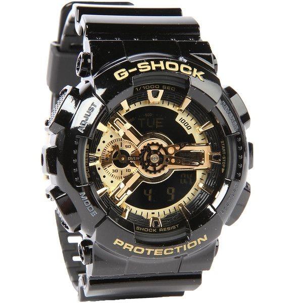 690880cbe16 Relógio Casio G-shock Ga 110 Preto   Dourado Caixa E Manual - R  439 ...