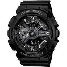 899fbbaf5cd Relógio Casio G-shock Ga-110 Wr20 Preto A Prova D`agua! - R  250
