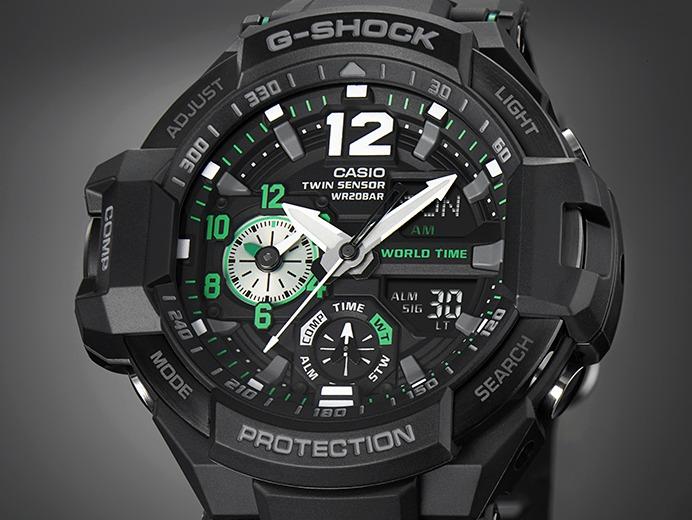 8979a72fca5 Relogio Casio G-shock Ga-1100-1a3 Ga-1000 Gravitymaster - R  998
