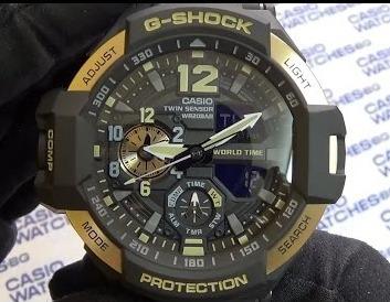 relogio casio g-shock ga-1100-9g gravitymaster original