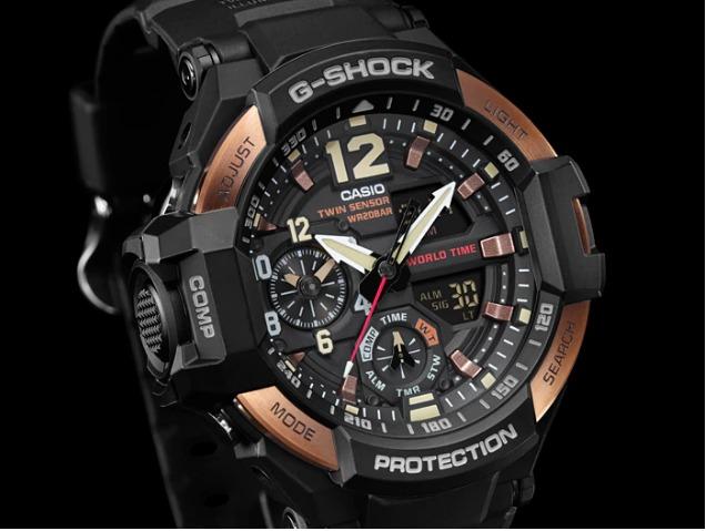 851eba91d21 Relogio Casio G-shock Ga-1100rg-1a Lançamento Ga-1000 Ga1100 - R ...
