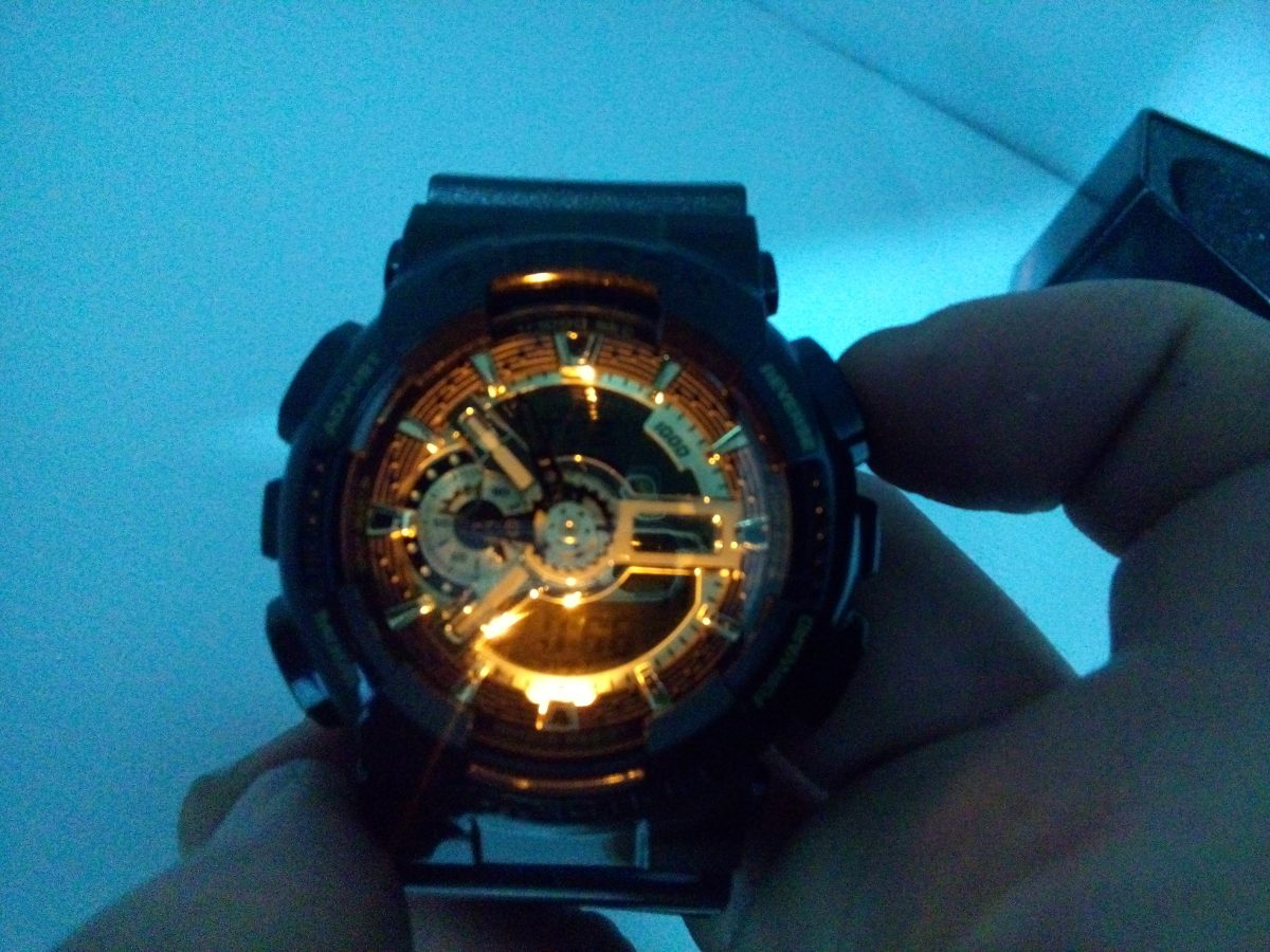 87ddb6ee054 Relogio Casio G Shock Ga-110br-5adr - 5 Alarmes Hora Mundial - R ...