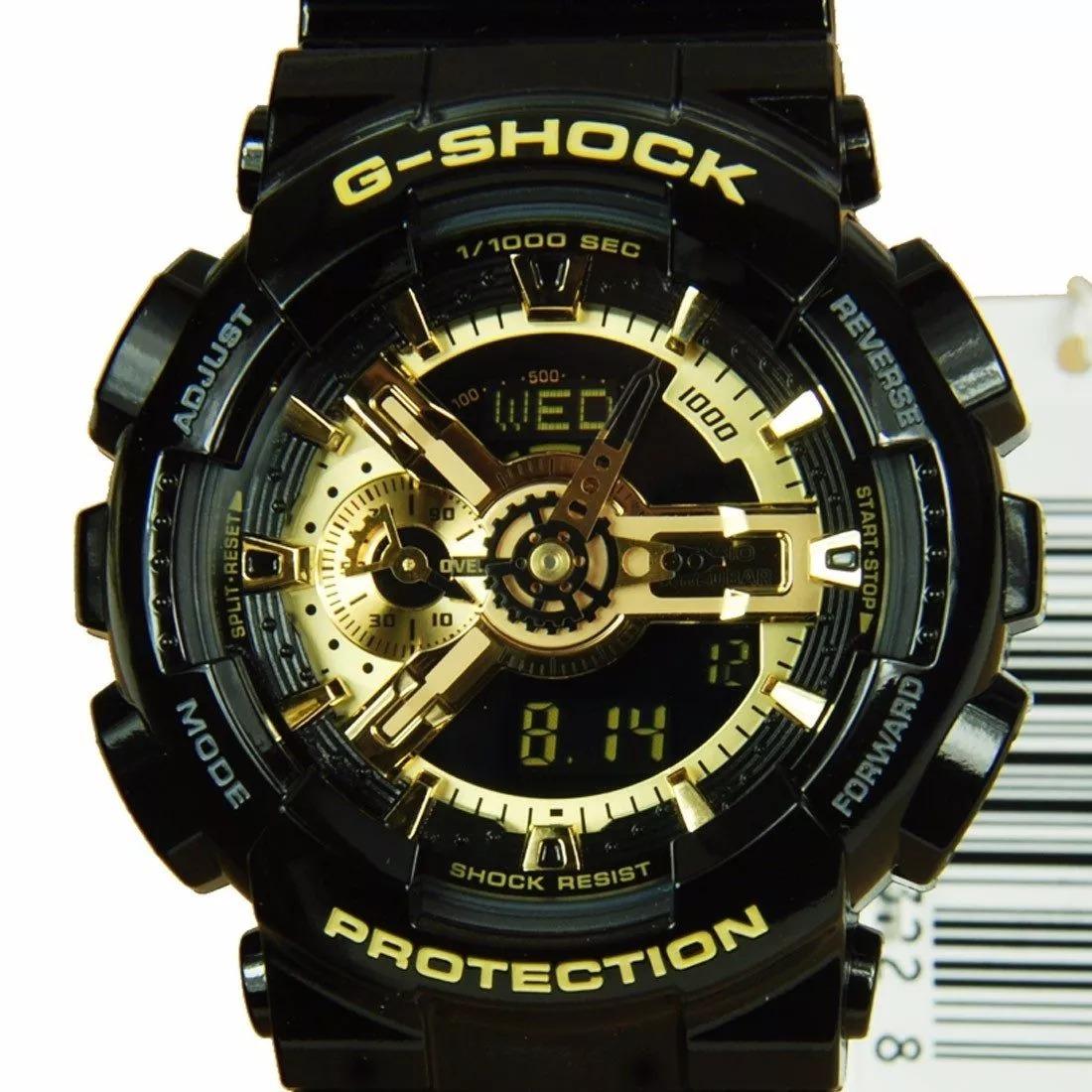 8b42740f0fc Carregando zoom. relógio casio g-shock ga-500-7a branco lançamento ga500