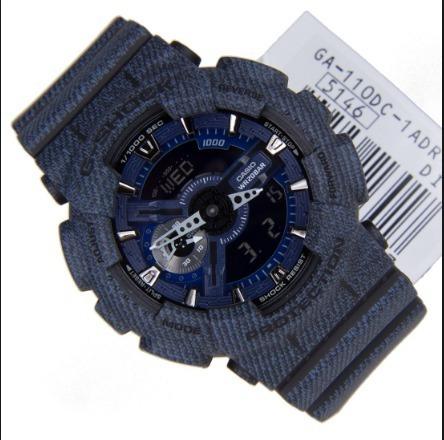 c705304567c Relogio Casio G-shock Ga-110dc-1 Jeans Original Ga-110 - R  698